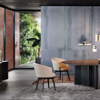 Sfera design Minotti canteen furniture Amélie Dining