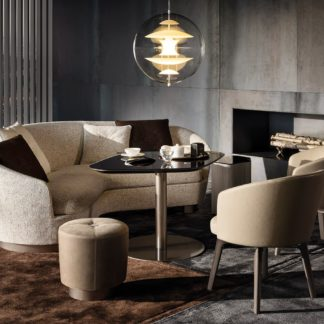Sfera design Minotti canteen furniture Amélie Lounge