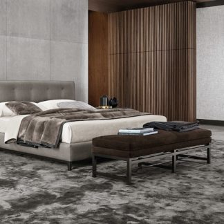 Sfera design Minotti bedroom furniture Andersen Bed Quilt