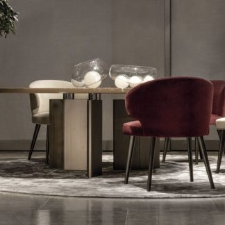 Sfera design Minotti canteen furniture Aston Dining