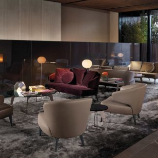 Sfera design Minotti soft furniture Aston Sofa
