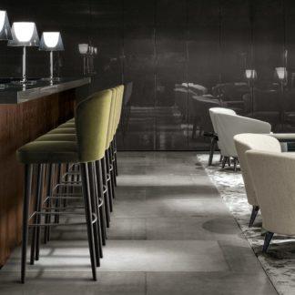 Sfera design Minotti canteen furniture Aston Stool