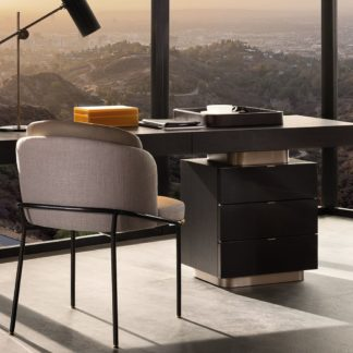 Sfera design Minotti office furniture Carson Writing Desk