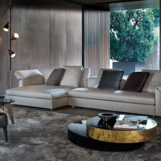 Sfera design Minotti soft furniture Collar
