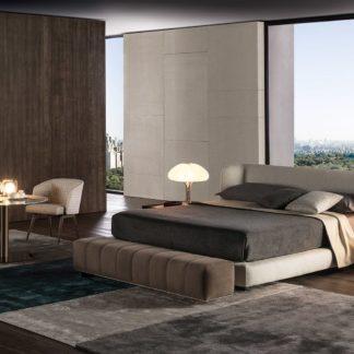 Sfera design Minotti bedroom furniture Creed Bed