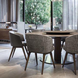 Sfera design Minotti canteen furniture Creed Dining