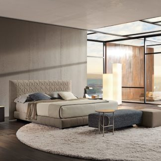 Sfera design Minotti bedroom furniture Curtis