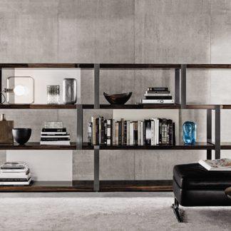 Sfera design Minotti storage-system furniture Dalton