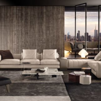 Sfera design Minotti soft furniture Freeman