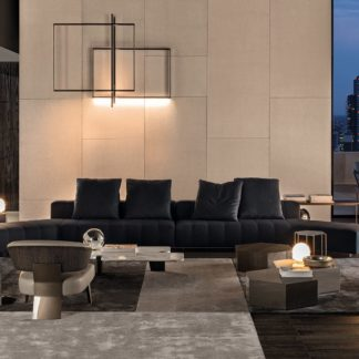 Sfera design Minotti soft furniture Freeman Lounge