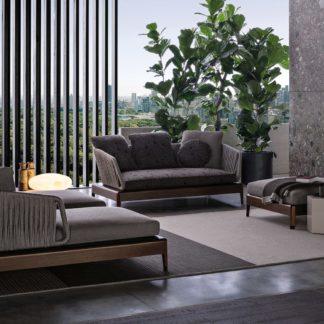Sfera design Minotti soft furniture Indiana