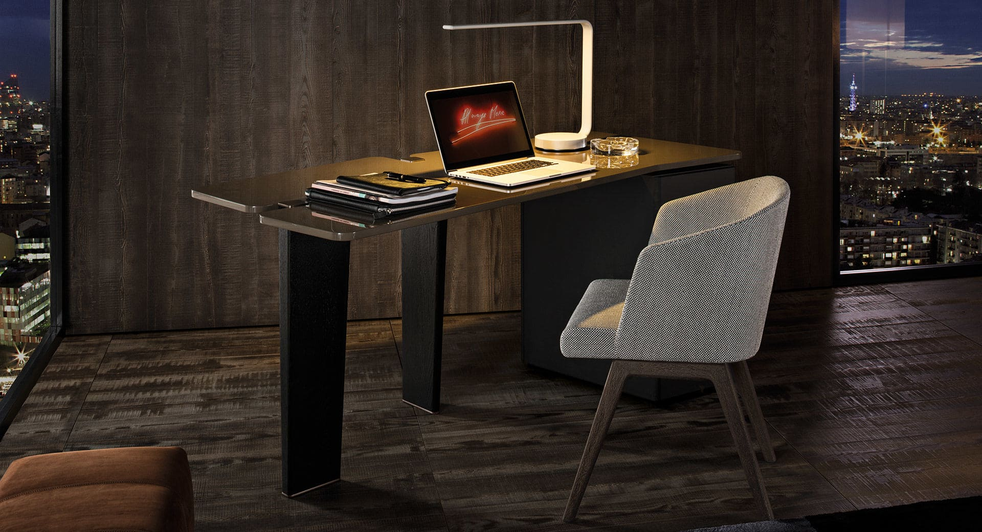 Sfera design Minotti office furniture Jacob Writing Desk