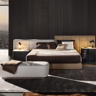Sfera design Minotti bedroom furniture Lawrence Bed