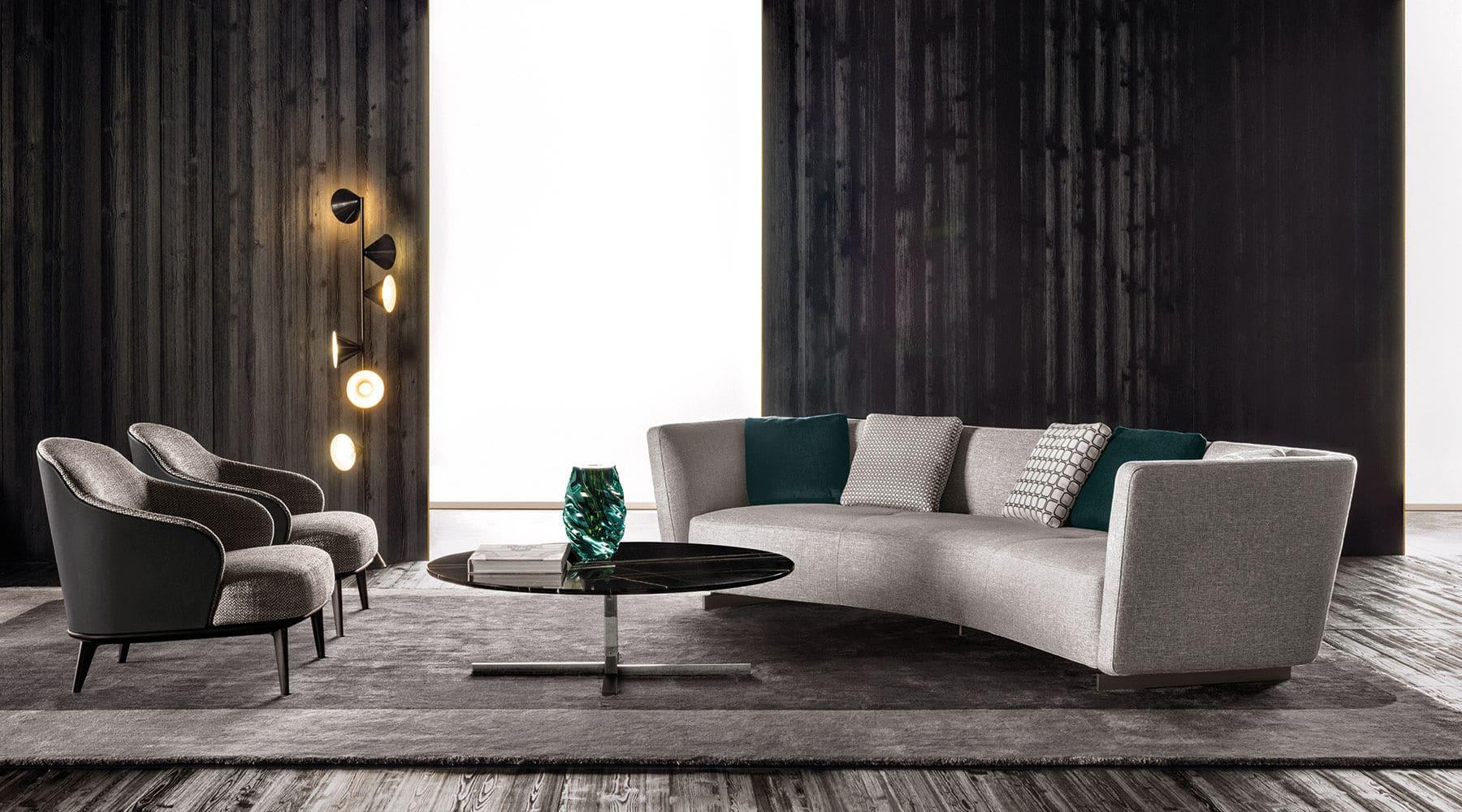 Sfera design Minotti soft furniture Lounge Seymour