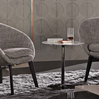 Sfera design Minotti canteen furniture Russell Lounge