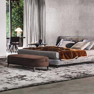 Sfera design Minotti bedroom furniture Spencer Bed