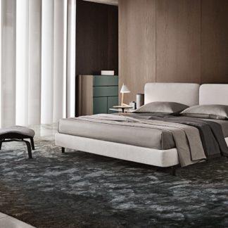 Sfera design Minotti bedroom furniture Tatlin Soft