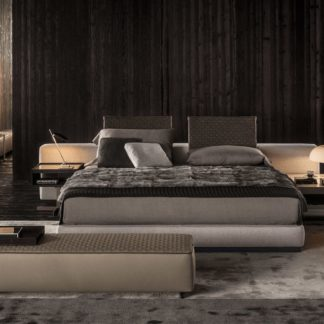 Sfera design Minotti bedroom furniture Yang Bed