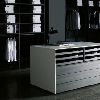Sfera design porro furniture Cassettiera Isola