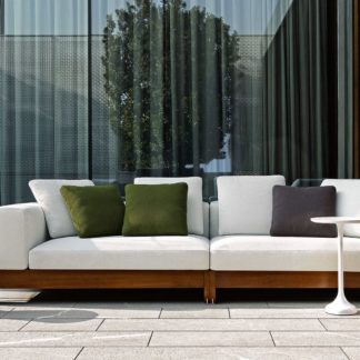 Sfera design Minotti soft furniture Alison Iroko