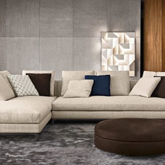 Sfera design Minotti soft furniture Andersen Slim 103