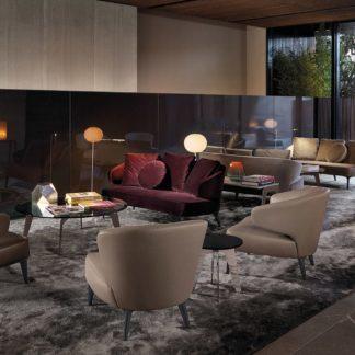 Sfera design Minotti soft furniture Aston Sofa