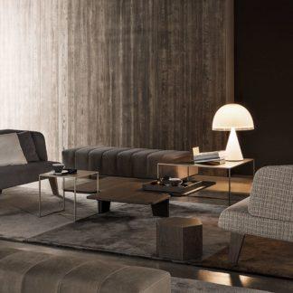 Sfera design Minotti soft furniture Creed Lounge sofa