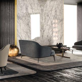 Sfera design Minotti soft furniture Leslie Sofa
