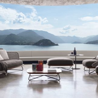 Sfera design Minotti soft furniture Rivera Collection