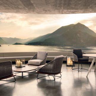 Sfera design Minotti soft furniture Rivera Armchair
